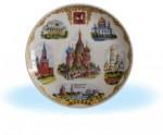 Москва - полноцветная деколь