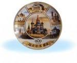 Москва на белом фоне